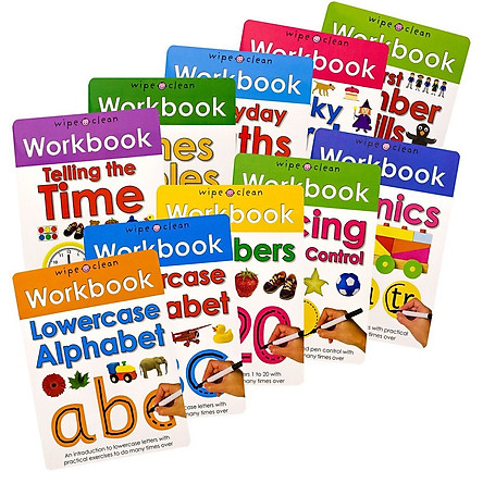 Wipe Clean Workbook Collection (10 books)