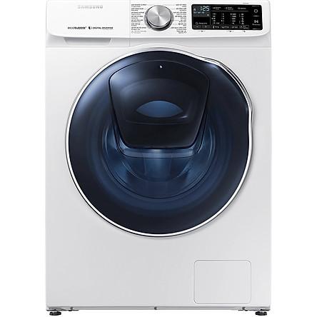 Máy Giặt Sấy Samsung Addwash Inverter 10.5 Kg WD10N64FR2W/SV - Chỉ Giao HN