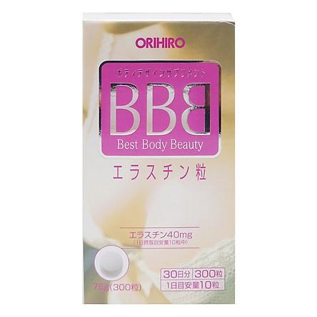 Viên Uống Nở Ngực BBB Orihiro 300 viên