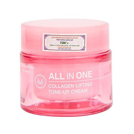 Kem Collagen chống lão hóa, Lên Tone DABO Collagen Lifting Tone Up Cream 50ml - Hàn Quốc Chính Hãng