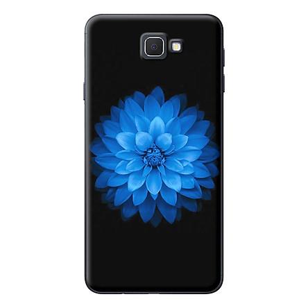 Ốp Lưng Dành Cho Samsung J5 Prime / J7 Prime - Hoa Xanh