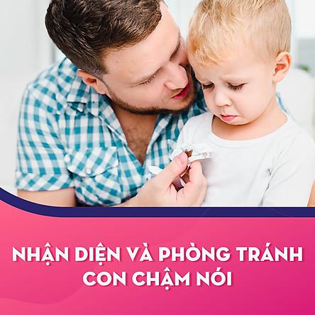 Khóa học Nhận diện và phòng tránh con chậm nói - KYNA FOR KIDS
