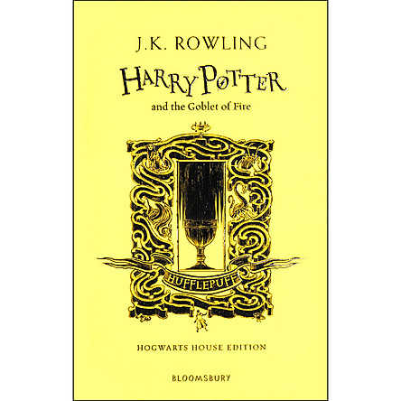 Harry Potter and the Goblet of Fire - Hufflepuff Edition (Book 4 of 7: Harry Potter Series) (Hardback)
