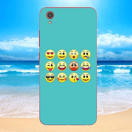 Ốp điện thoại dành cho máy Vivo Y91C - emojis nhiều cảm xúc MS EMGES024