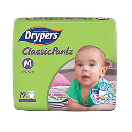 Tã Quần Drypers ClassicPantz M19 (19 Miếng)