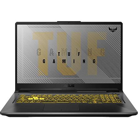 Laptop ASUS TUF Gaming A17 FA706IU-H7133T (AMD Ryzen R7-4800H/ 8GB DDR4 3200MHz/ 512GB SSD M.2 PCIE G3X2/ GTX 1660Ti 6GB/ 17.3 FHD IPS, 120Hz/ Win10) - Hàng Chính Hãng