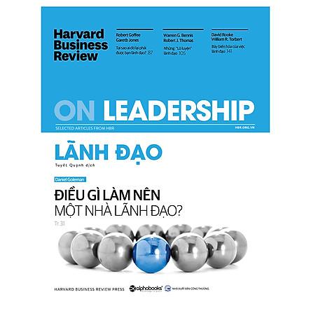 Harvard Business Review - ON LEADERSHIP - Lãnh Đạo