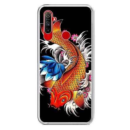 Ốp Lưng Điện Thoại Realme C3 - Silicone Dẻo - 01286 0010 FISH05 - Hàng Chính Hãng