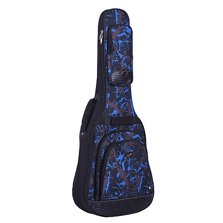"""Bao Đựng Đàn Guitar Nhiều Túi Với Dây Đeo Vai Điều Chỉnh Được (42"""")"""