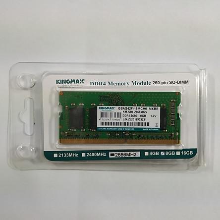 RAM Laptop Kingmax 8GB Bus 2666 DDR4 - Hàng Chính Hãng