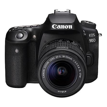 Máy Ảnh Canon EOS 90D Kit 18-55mm - Hàng Chính Hãng