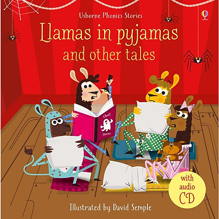 Usborne Llamas in pyjamas and other tales (bind-up of six titles) w CD