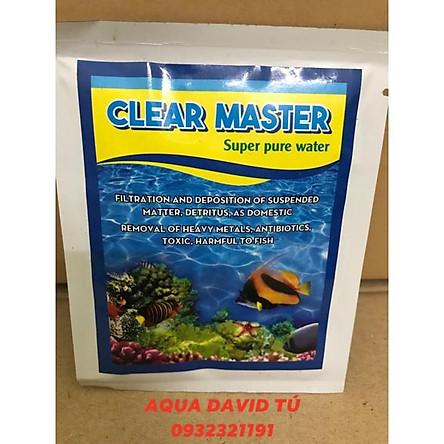 Men Vi Sinh Clear Master SIêu Sạch Nước Cho Bể Cá - Men Vi Sinh Làm Sạch Hồ Cá 10g