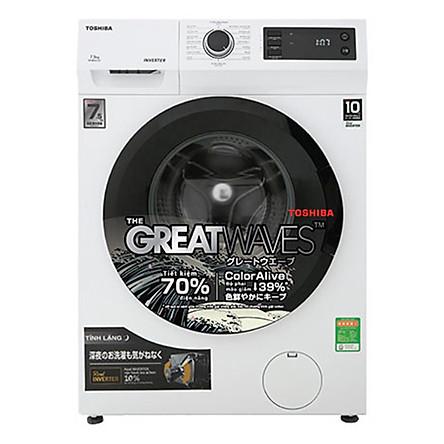 Máy Giặt Toshiba Inverter 7.5kg TW-BK85S2V(WK) - Chỉ Giao HCM