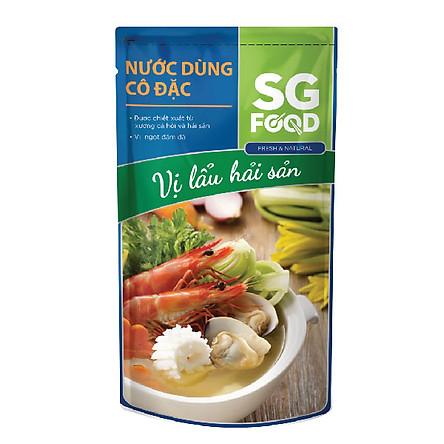 Nước Dùng Cô Đặc Vị Lẩu Hải Sản SG Food (150g)