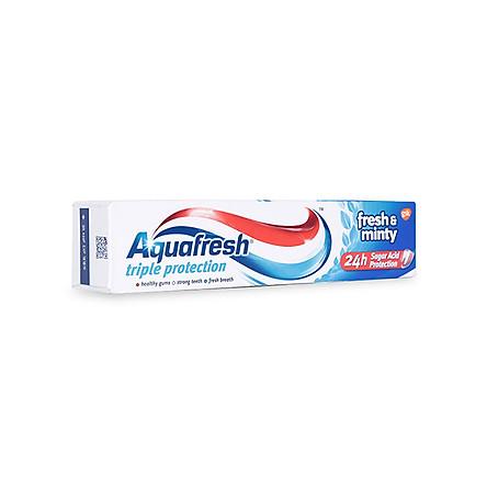 Kem Đánh Răng Aquafresh Fresh & Minty (100ml)