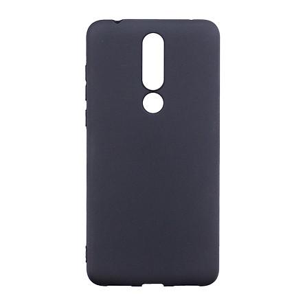 Ốp Lưng Dẻo Nhám Dành Cho Nokia 3.1 Plus - Hàng Chính Hãng