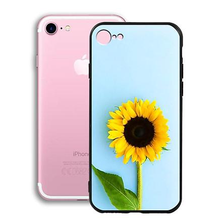 Ốp lưng mẫu đẹp cho điện thoại Iphone 7 / 8 - Viền dẻo - 02005 0325 SUNFLOWER05 - hoa Hướng Dương - Hàng Chính Hãng