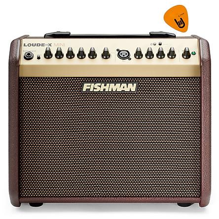 [Bluetooth] Fishman Loudbox Mini 60W Instrument Amplifier - Ampli cho Đàn Guitar & Nhạc cụ mộc Acoustic - Kèm Móng Gẩy DreamMaker
