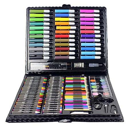 Hộp bút màu 150 chi tiết cho bé yêu thỏa sức sáng tạo, thỏa sức đam mê hội họa trên từng trang giấy