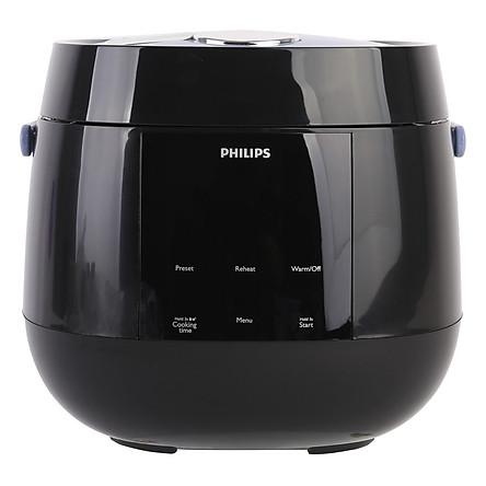 Nồi Cơm Điện Tử Philips HD3060 (0.7L) - Đen - Hàng chính hãng