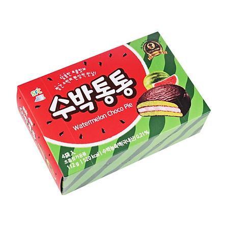 Bánh Chocopie Dưa Hấu Hàn Quốc 348gr