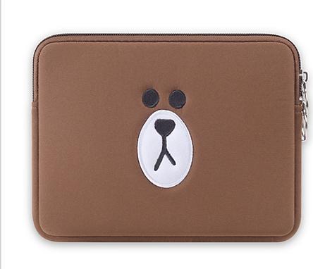 Túi chống sốc Macbook Air 13inch - Gấu Brown
