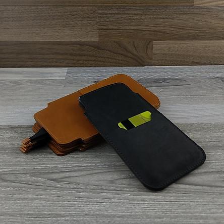 Bao Da Dây Rút dành cho Samsung Galaxy Note 10 Da Bò