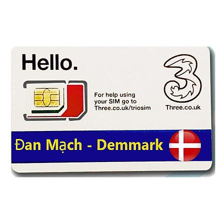 Sim Du lịch Đan Mạch - Demmark 4G tốc độ cao
