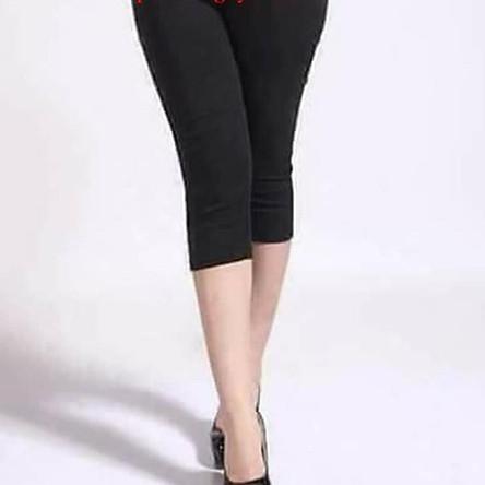 Quần Legging Cotton Cho Mẹ Bầu Freesize Cho Mẹ Dưới 70kg