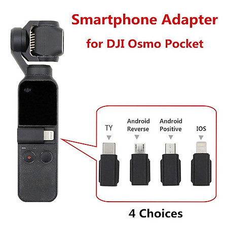 For DJI Osmo Pocket Smartphone Adapter Micro USB ( Android ) TYPE-C IOS for OSMO Pocket Handheld Gimbal Accessiories