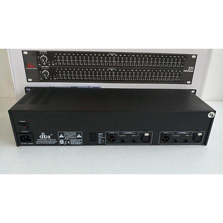 Máy lọc âm nhập khẩu dbx 231