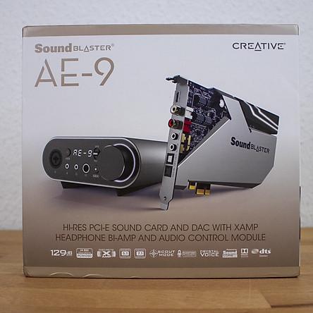 Card Âm Thanh Creative Sound Blaster AE-9 - Hàng Chính Hãng