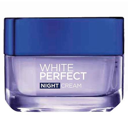 Kem dưỡng trắng da vitamin L'Oreal Paris Aura Perfect ban đêm 50ml (Kem đêm)
