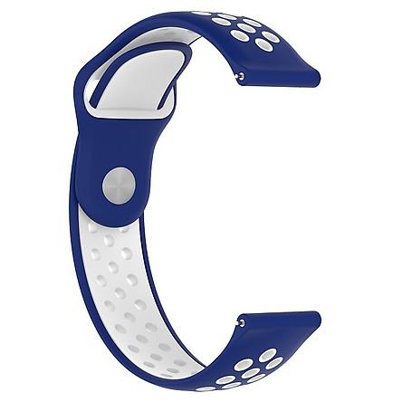 Dây Đeo Thay Thế Cho Đồng Hồ Thông Minh Smart Watch Size 20mm Xiaomi Amazfit Bip / Huawei Watch 2 / Garmin Vivomove HR / Samsung Galaxy Watch (42mm) / TICWATCH 2 Dây Hai màu Size Lớn