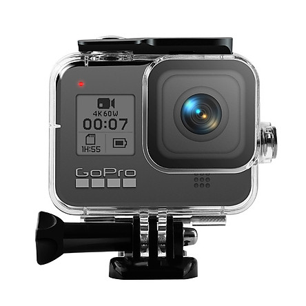 Camera Storage Case for GoPro Hero 8 Black Action Camera 60m Waterproof Case Protective Housing Cover Hard Shell Frame Specification:as shown
