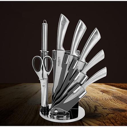 Bộ dao nhà bếp cao cấp thép không gỉ 8 món