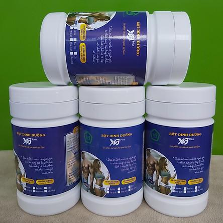 Combo 4 hộp bột ngũ cốc dinh dưỡng X5 dành cho người tập gym có whey, đạm đậu nành, Giúp Tăng Cơ, Giảm Mỡ (Ngũ cốc tập Gym- thể thao)