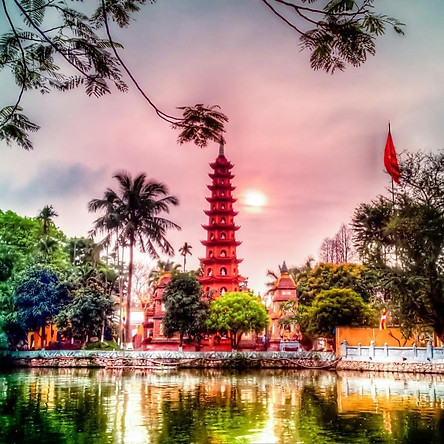Tour 6N5Đ  Hà Nội - Hạ Long - Yên Tử - Ninh Bình - Sapa - Fansipan - Bao Gồm Vé Máy Bay Khứ Hồi
