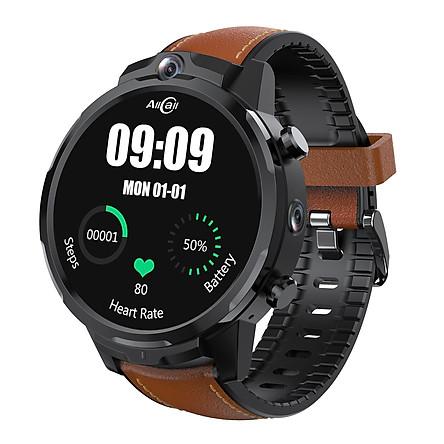 AllCall Awatch GT2 Smart Watch Android 7.1 LTE 4G SIM Card Digital Watch RAM3G ROM32G 5MP+5MP Dual Camera 1.6inch IPS