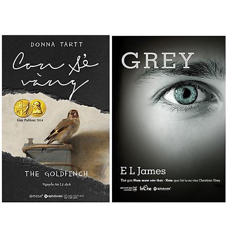 Combo Sách : Con Sẻ Vàng + Thế Giới 50 Sắc Thái - Xám Qua Lời Tự Sự Của Christian Grey