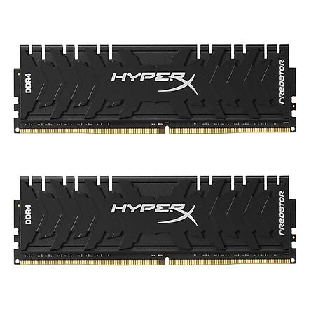 Bộ 2 Thanh RAM PC Kingston 32GB HyperX Predator Black (2 x 16GB) DDR4 3000MHz HX430C15PB3K2/32 - Hàng Chính Hãng