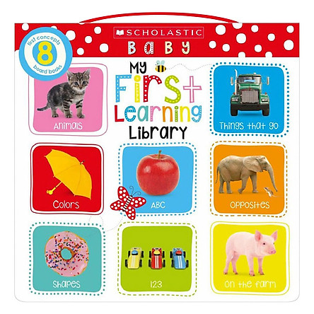 Scholastic Early Learners: Little Learning Library Box Set (8 Books)