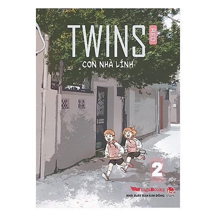 Twins - Con Nhà Lính - Tập 2 (Tặng Kèm Postcard)