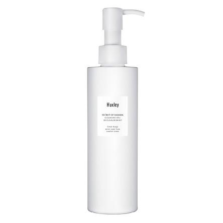 Gel rửa mặt dịu nhẹ dành cho da nhạy cảm Huxley Cleansing Gel; Be Clean Be Moist 200ml