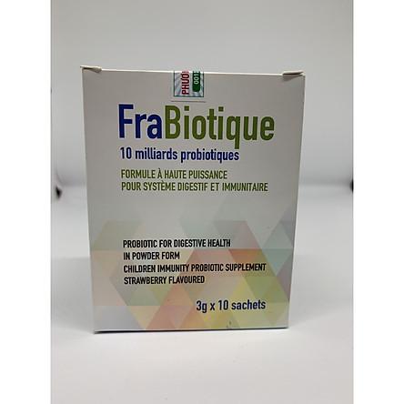 Combo 06 Hộp Men Vi Sinh Frabiotique [ Ngăn ngừa tình trạng táo bón, tiêu chảy, rối loạn tiêu hoá ở trẻ]