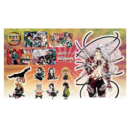 Thanh Gươm Diệt Quỷ - Kimetsu No Yaiba - Tập 22: Vòng Xoay Vận Mệnh - Tặng Kèm Sticker Tổng Hợp