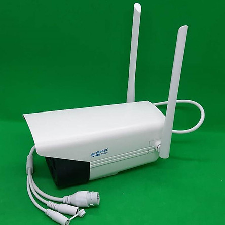 Camera IP Wifi Ngoài trời app Yoosee - 2 Râu 1080P 4 LED trợ sáng đàm thoại 2 chiều - Hàng chính hãng