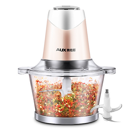 AUX meat grinder/meat mincer/mixer 1.8L HX-J3016 four-dimensional fine whipping two-stage adjustment
