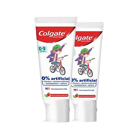 Bộ 2 Kem đánh răng trẻ em Colgate Kid Free From 6-9 80g/tuýp